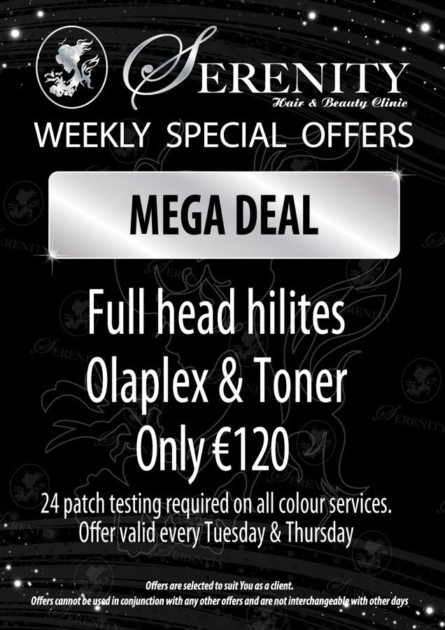 Serenity Hair and Beauty Clinic Mega Deal
